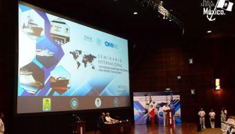 Semar inaugura seminario 'Autoridad Marítima Nacional, una Perspectiva Global'