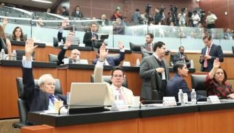 partidos negocian organos gobierno senado