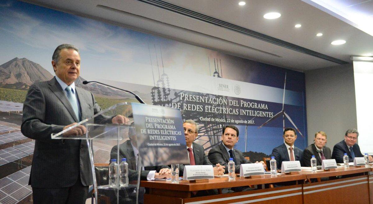 Gobierno prevé inversión de 11600 mdp en redes eléctricas inteligentes