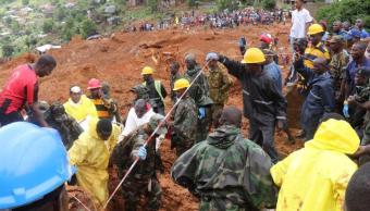 Más de 100 niños muertos dejan inundaciones en Sierra Leona