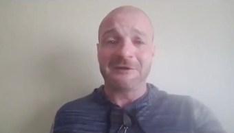 Christopher Cantwell suplica llorando no ser arrestado violencia Charlottesville