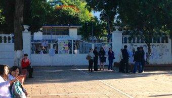 Suspenden clases en la UABJO por disparos