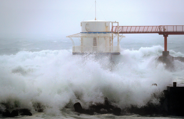 Tifon Noru afecta al oeste de japon
