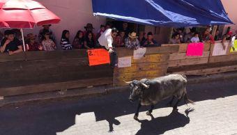 Huamantlada en Tlaxcala deja seis lesionados