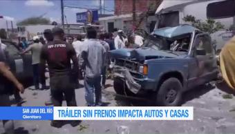 Trailer Sin Frenos Impacta Autos Casa Queretaro