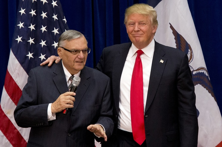 Trump indulta exsheriff Maricopa Arizona Joe Arpaio