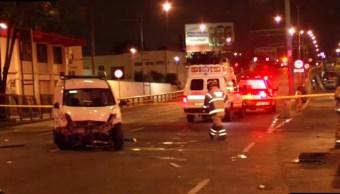 un accidente deja un muerto y tres lesionados
