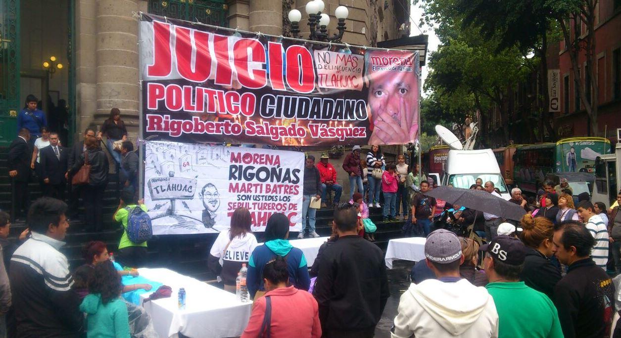 Lamenta ALDF que delegado en Tláhuac se negara a recibir notificación