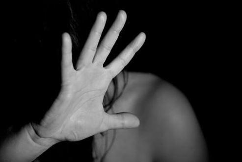Foto:Fotografía de una mujer víctima de violencia, 9 febrero 2019
