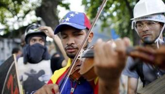 Violinista venezolano Wuilly Arteaga denuncia que fue torturado Caracas