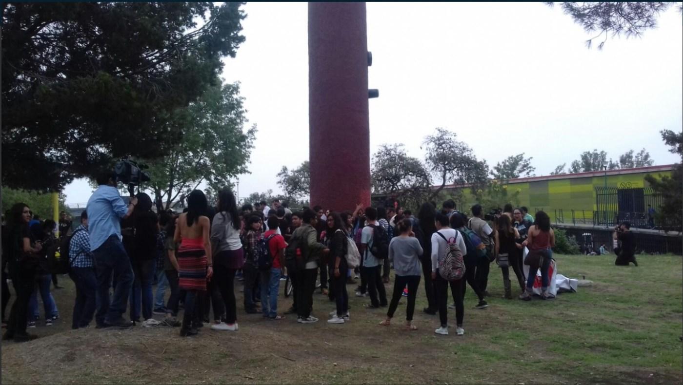 Zona de los bigotes en la UNAM