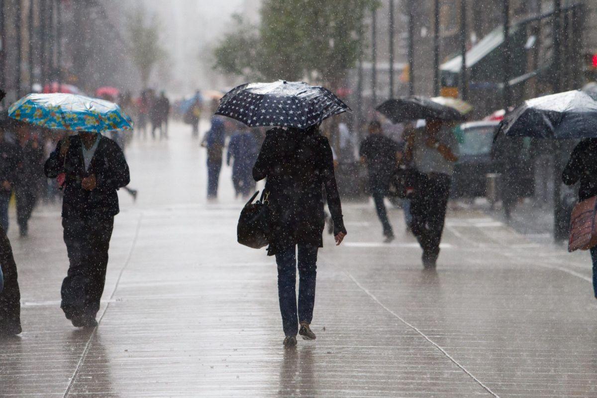 Prevén lluvias en la Ciudad de México y Edomex