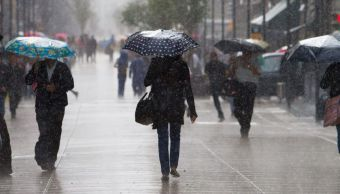 Se prevé ambiente fresco y lluvia con chubascos en la CDMX