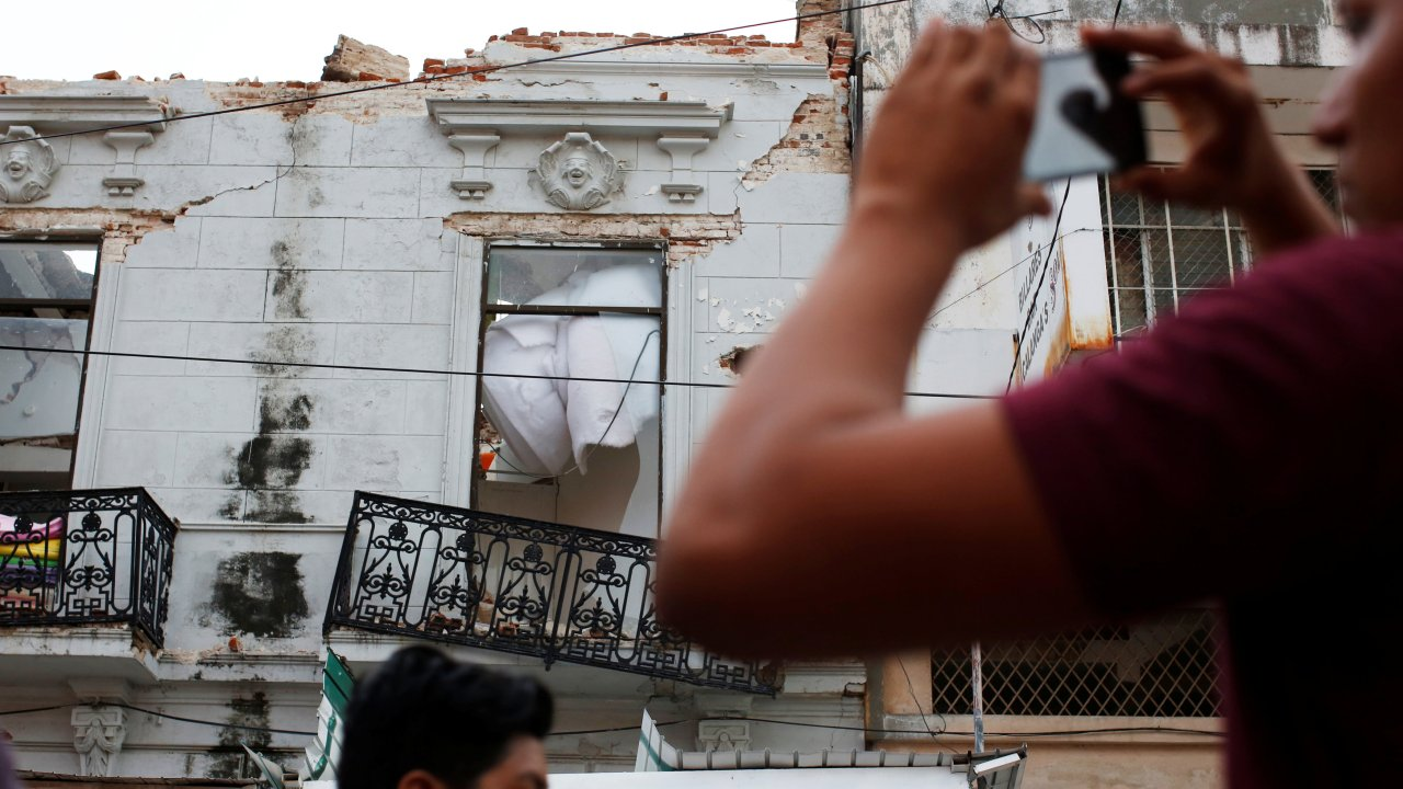 habitantes chiapas duermen intemperie temor sismos