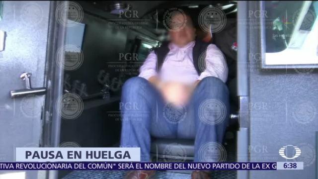 Javier Duarte huelga hambre Reclusorio Norte