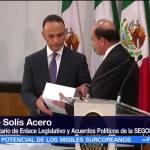 Congreso recibe el Quinto Informe Gobierno