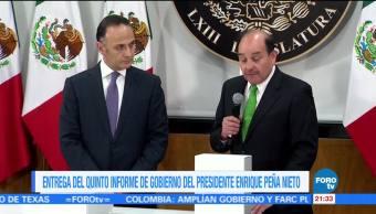 Entrega del 5toInforme de gobierno del presidente Peña Nieto