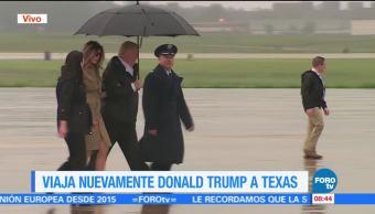 Trump Viaja Texas Reunirse Victimas Harvey