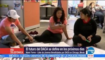 Futuro Daca Define Próximos Días Chicago María Torres