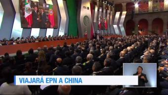 Peña Nieto prepara una gira de trabajo a China