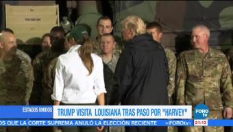 Trump agradece a rescatistas por labor tras paso de 'Harvey'