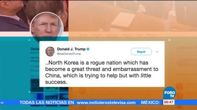 Trump, condena, ensayo, nuclear