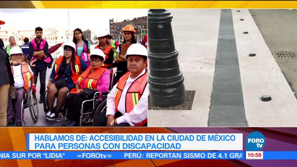 Accesibilidad En La Cdmx Para Personas Con Discapacidad