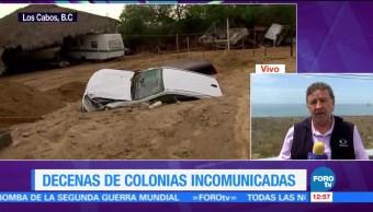 Decenas Colonias Incomunicadas Baja California Sur