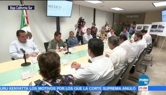 Peña Nieto supervisa acciones de apoyo en BCS tras daños por Lidia