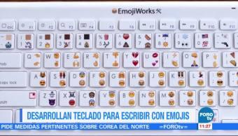 Desarrollan, teclado, escribir, emojis