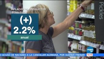 Aumentan Julio Precios Productor Zona Euro Eurostat