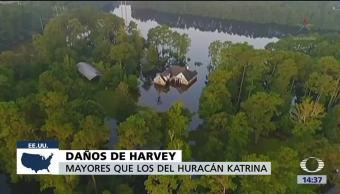 Daños Harvey Costaran Katrina Gobernador De Texas, Greg Abbott