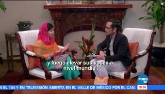 Promo Genaro Lozano Entrevista Malala Yousafzai Premio Nobel De La Paz