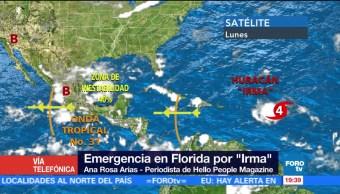 Declaran Emergencia Florida Amenaza Huracan Irma