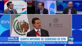 Análisis del 5to Informe Gobierno EPN