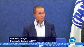 PAN aprueba impulsar Frente Amplio Democrático