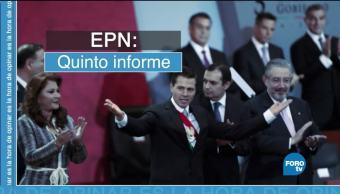 balance EPN Quinto informe de Gobierno