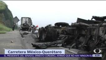 Accidente, México, Querétaro, muertos
