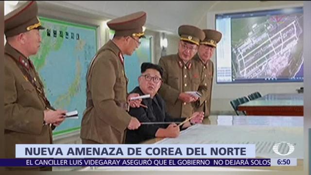 Corea Norte Amenazar Estados Unidos