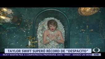 Taylor, Swift, destrona, Despacito