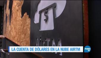 Cuentas de ahorro de dólares en la nube de AirTM