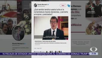 Ricardo Monreal, procedimiento, designar, coordinador