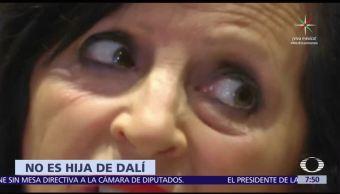 ADN Comprueba Pilar Abel Salvador Dalí