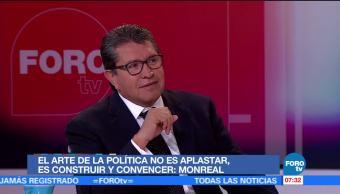 Ricardo Monreal, aspiraciones, jefatura, Gobierno