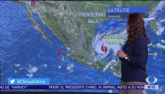 Katia, afectará, Veracruz, Tamaulipas