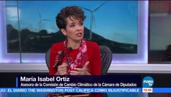 María Isabel Ortiz habla de La energía renovable en México