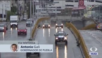 Albergues en Puebla están listos dice el gobernador Gali