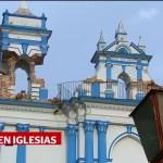 Iglesias de Chiapas dañadas por el sismo