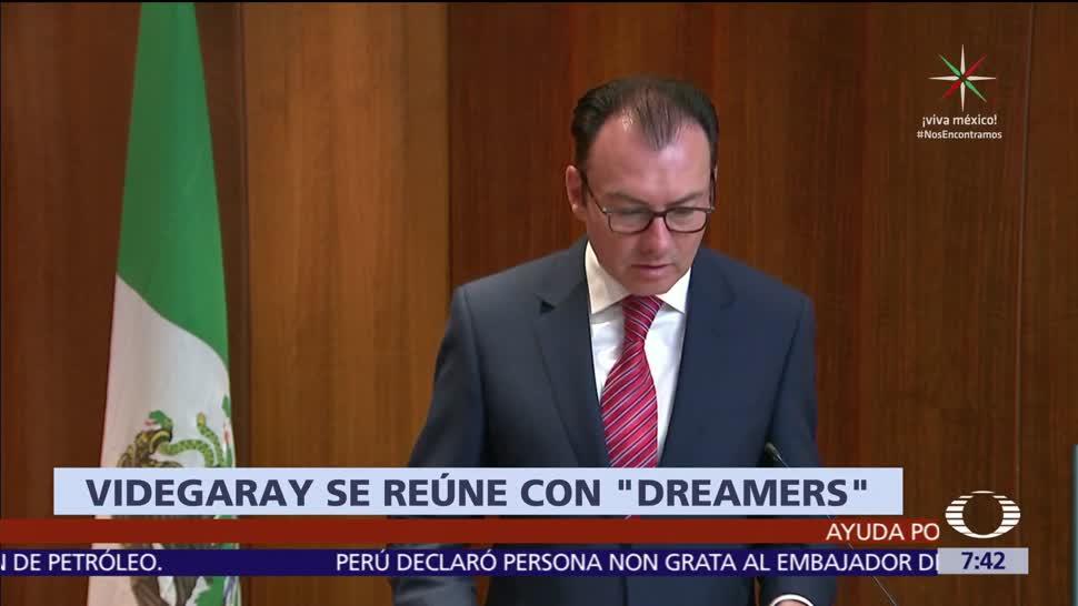 Videgaray, dreamers mexicanos, California