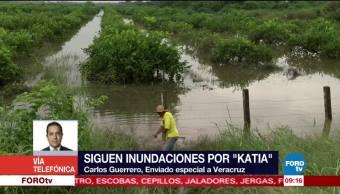 inundaciones, Veracruz, efectos, Katia